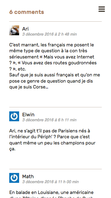 Aby Cyclette, commentaires